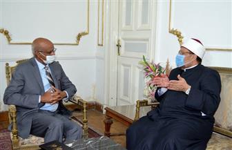 وزير الأوقاف يستقبل سفير السودان بالقاهرة ومندوبها الدائم لدى جامعة الدول العربية | صور