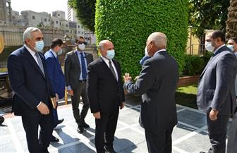وزير الخارجية العراقي يبحث مع أبو الغيط التحديات العربية المشتركة | صور