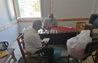إجراء تحاليل مخدرات لموظفي الوحدة المحلية بسفاجا | صور