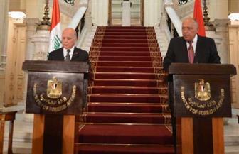 سامح شكري: مصر تقدر التحديات التي تواجه العراق وعلى استعداد لتقديم المساعدة