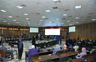 جامعة أسيوط تشهد فعاليات المؤتمر الختامي لـنموذج محاكاة الاتحاد الأوروبي | صور