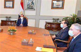 تفاصيل لقاء الرئيس السيسي برئيس شركة إيني الإيطالية للبترول