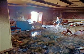 حريق يلتهم شقة رئيس الإدارة المركزية لشئون مكتب محافظ الغربية بكفر الزيات | صور