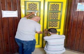 إغلاق 3 سناتر في حملة لرئاسة مركز المنزلة بالدقهلية | صور