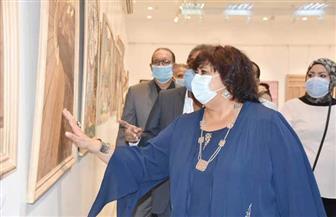 """وزيرة الثقافة: مبادرة """"صنايعية مصر"""" في المحافظات نجحت في خلق جيل جديد من المبدعين  صور"""