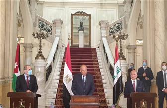 وزير الخارجية: أطراف دولية تحاول زعزعة الاستقرار فى ليبيا