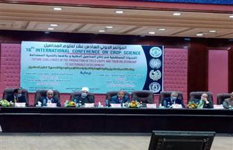 رئيس جامعة الأزهر يفتتح المؤتمر الدولي السادس عشر للمحاصيل