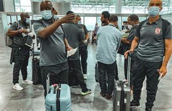 بعثة الأهلي تتوافد على المطار استعدادا لرحلة المغرب | صور