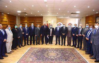 التضامن توقع بروتوكول تعاون مع رؤساء 24 جامعة حكومية | صور