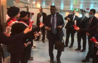استقبال حافل لبعثة الزمالك في مطار القاهرة
