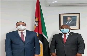 سفير مصر في مابوتو يبحث مع وزير الصناعة والتجارة الموزمبيقي تعزيز التعاون الاقتصادي