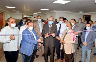 تشغيل 8 أجهزة جديدة بـ3 مراكز طبية بجامعة المنصورة تكلفتها 50 مليون جنيه|صور