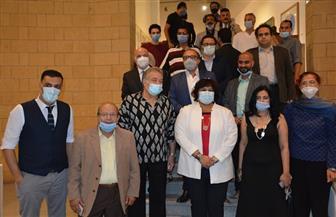 وزيرة الثقافة تفتتح الدورة 59 من صالون القاهرة: «تعبر عن الهوية الفنية للوطن»   صور