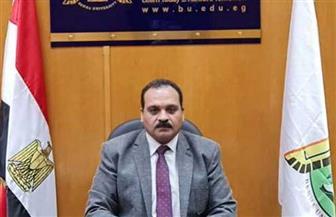 نائب رئيس جامعة بنها يتفقد المدن الجامعية استعدادا للعام الدراسى الجديد