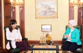 وزيرة الهجرة: المصريات بالخارج يضربن مثالا أن المرأة تستطيع النجاح