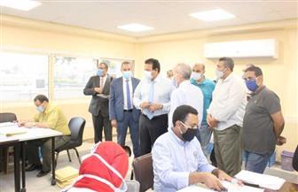 وزير التعليم العالي يطمئن على سير العمل بمكتب التنسيق الرئيسي بجامعة عين شمس | صور