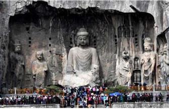 إحياء تمثال صيني عمره 1300 عام باستخدام التكنولوجيا الرقمية في وسط الصين