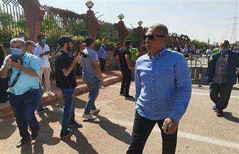حضور فني كبير في جنازة الراحل محمود ياسين | صور