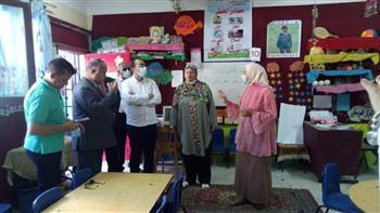 نائب محافظ الإسماعيلية يتفقد المدارس استعدادا للعام الدراسي الجديد