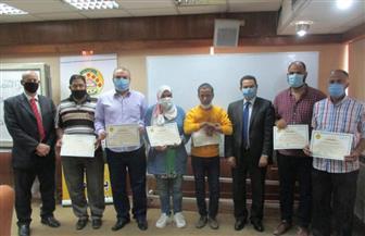 «التنمية المحلية» تحتفل بتخريج 130 متدربا | صور