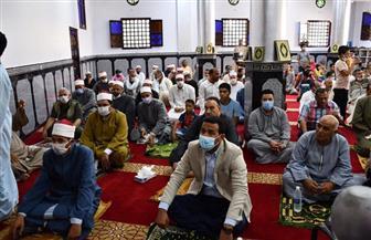 افتتاح مسجد بعد إحلاله وتجديده بتكلفة 1.5 مليون جنيه في الفيوم | صور