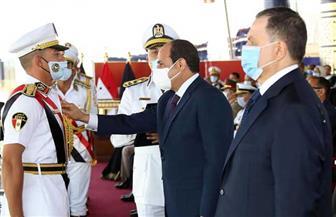 المتحدث الرئاسي ينشر صور مشاركة الرئيس السيسي في احتفال أكاديمية الشرطة | صور