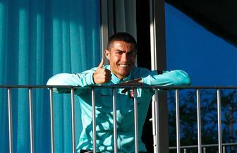 بعد إصابته بكورونا.. كريستيانو رونالدو ينشر بثا مباشرا من الحجر الصحي