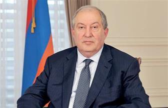 """رئيس أرمينيا لـ""""الأهرام ويكلي"""": التدخل العسكري والسياسي لتركيا في ناجورنو كارباخ حقيقة.. ونخوض حربا ضد الإرهاب"""