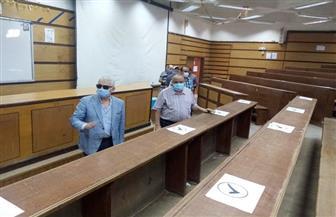 استعدادات مكثفة بجامعة طنطا لبدء العام الدراسي الجديد | صور