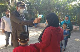 انتظام الدراسة في ٣٢ إدارة تعليمية بالقاهرة وتطبيق الإجراءات الوقائية على التلاميذ وأولياء أمورهم | صور