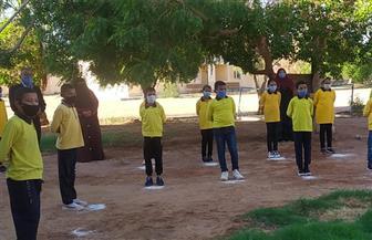 ٤٦٤ مدرسة تستقبل تلاميذ وطلاب المدارس مع أول يوم للعام الدراسي الجديد| صور