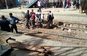 مصرع شاب سقط من القطار بالعياط