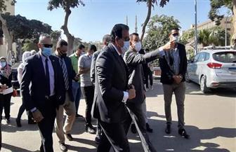 وزير التعليم العالي يصل جامعة عين شمس للاطمئنان على سير الدراسة| صور