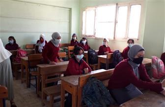 «بقعة الشطرنج».. طريقة الجلوس داخل فصول مدارس القاهرة للوقاية من كورونا