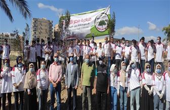 نائب محافظ كفر الشيخ يشارك 100 شاب وفتاة بمشروع الخدمة العامة | صور