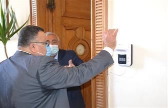 5 إجراءات احترازية في أول أيام الدراسة بجامعة الإسكندرية لمواجهة كورونا| صور
