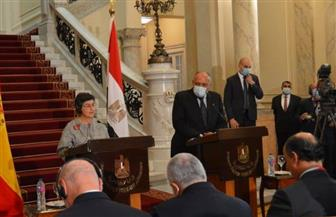 وزيرة خارجية إسبانيا: مصر دولة محورية وتلعب دورا مهما إقليميا ودوليا