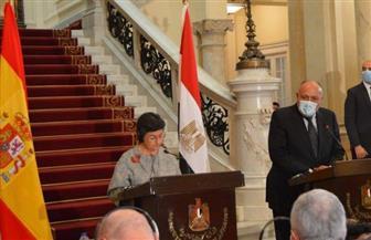 وزيرة خارجية إسبانيا: نثمن جهود مصر في تمكين المرأة.. ونؤيد الحل السياسي للأزمة الليبية