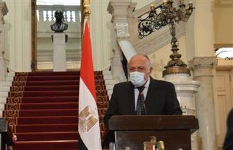 وزير الخارجية: ننسق مع الجانب الأوروبي بشأن الوضع في البحر المتوسط