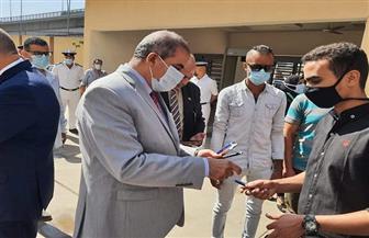 رئيس جامعة الأزهر يوجه الطلبة بمراعاة الإجراءات الاحترازية ضد فيروس كورونا | صور