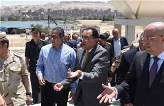 رئيس الوزراء يتفقد المتحف القومي للحضارة المصرية بالفسطاط