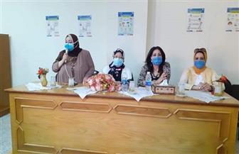 «آليات الوقاية من فيروس كورونا» في حوار مفتوح ضمن استعدادات العام الدراسي ببورسعيد | صور