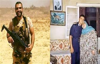 وفاة والدة الشهيد أحمد منسي