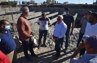 «الغضبان» يتفقد مشروع «جرين ويفز» السياحي ببورسعيد | صور