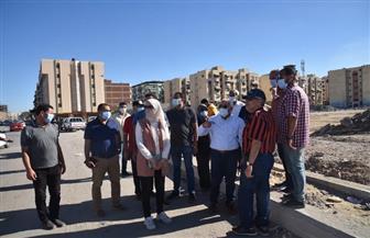 محافظ بورسعيد يتابع سير العمل في إنشاء شارع الرحاب الجديد   صور