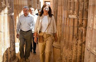 وزيرة الهجرة توجه رسالة للشباب: «عليكم أن تفخروا بحضارة مصر وعظمة أجدادكم» | صور