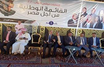 «زعيم الأغلبية» يدعم مرشحي القائمة الوطنية بالبحيرة في انتخابات «النواب» | صور