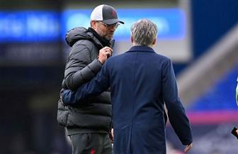 كلوب يطلب تفسيرا لما حدث في مباراة ليفربول مع إيفرتون