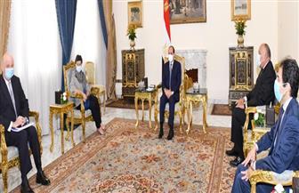 الرئيس السيسي: محاولات النيل من كيانات الدول ومؤسساتها تتيح المساحة لانتشار خطر الإرهاب
