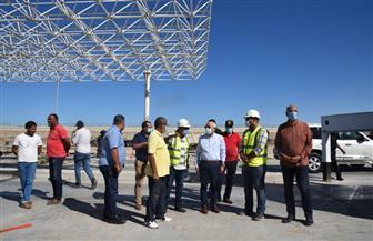 محافظ بورسعيد يشدد على الانتهاء من أعمال توسعة وإنشاء منفذ النصر الجديد | صور